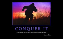 conquer it poster