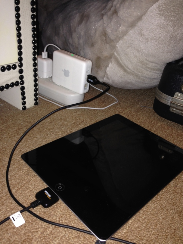iPad airport express charger
